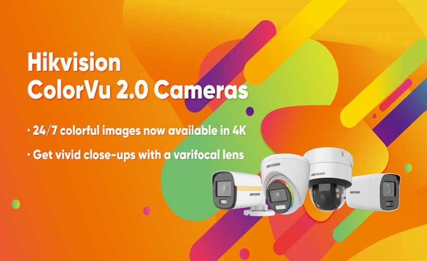 Hikvision releases ColorVu 2.0 cameras now with 4K and varifocal options