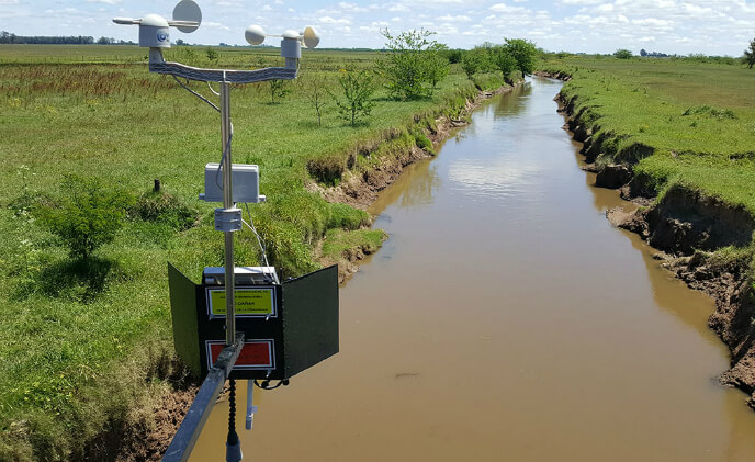 Libelium sensor warns flood damage proactively in Argentina