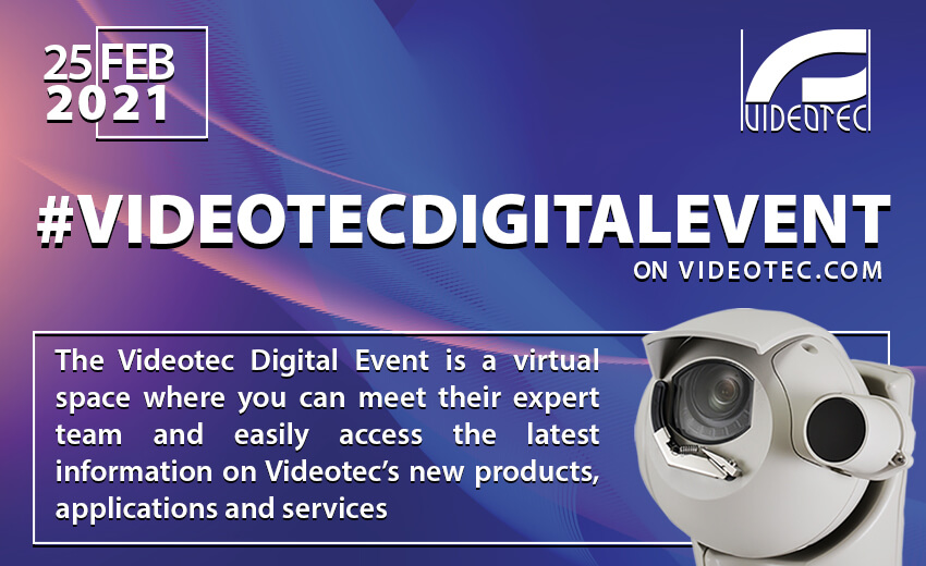 Videotec's latest digital event has been announced for 25th February