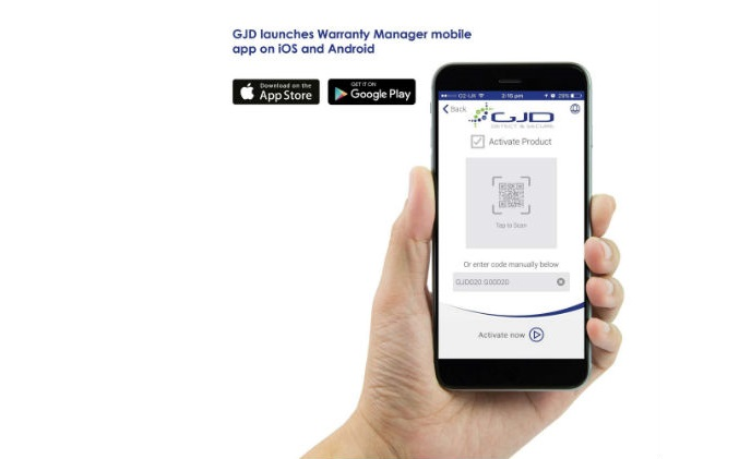 GJD launches Warranty Manager mobile app on iOS and Android