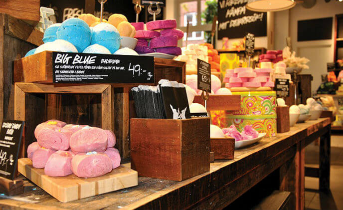Empowering store managers is the Lush way