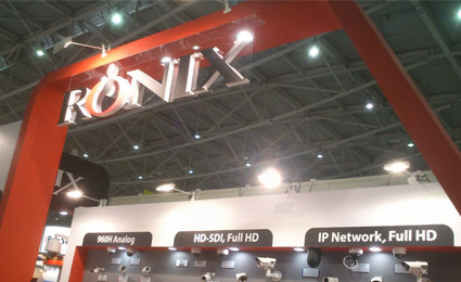 [Secutech2014] Korea30: Ronix displays Full HD WDR, HD-SDI series cameras