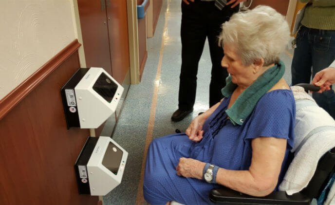 First eldercare facility to deploy Princeton Identity's iris recognition