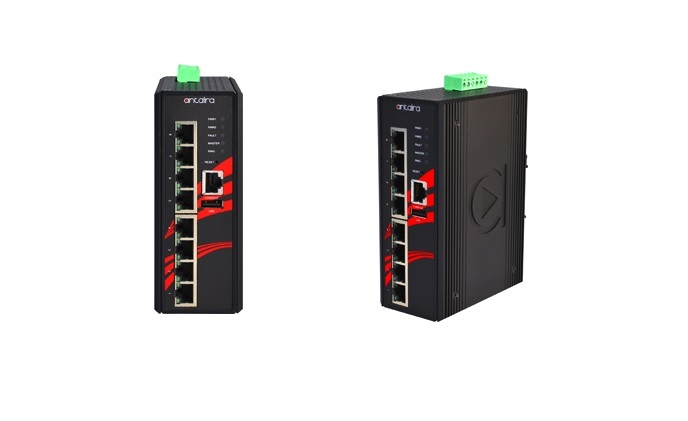 Antaira launches 8-port industrial PoE+ Gigabit managed switches
