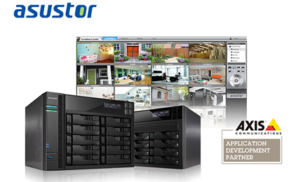 ASUSTOR officially joins AXIS's application development partner program