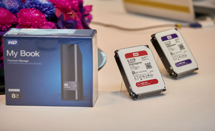 WD expands its hard drives and external storage solutions to 8 TB