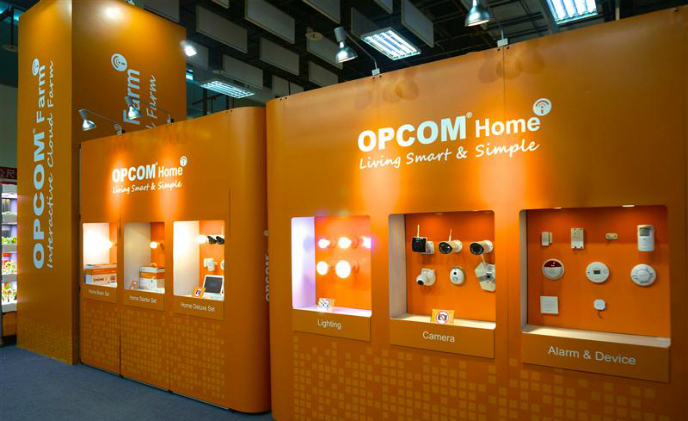 OPCOM showcases OPCOM Home for building an IoT home