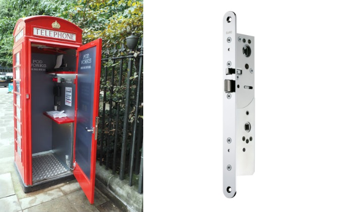 Abloy UK secures Pod Works phone box offices