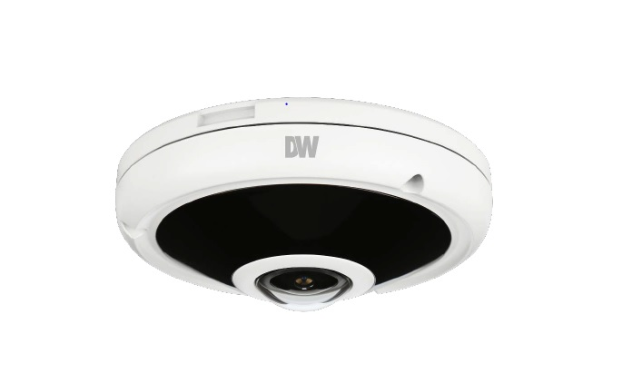 Digital Watchdog adds new 5MP tamper-resistant fisheye IP vandal camera