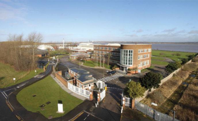 Castel IP Intercom chosen for redeveloped Mersey Wharf Business Park