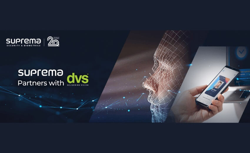 Suprema expands distribution through partnership with DVS
