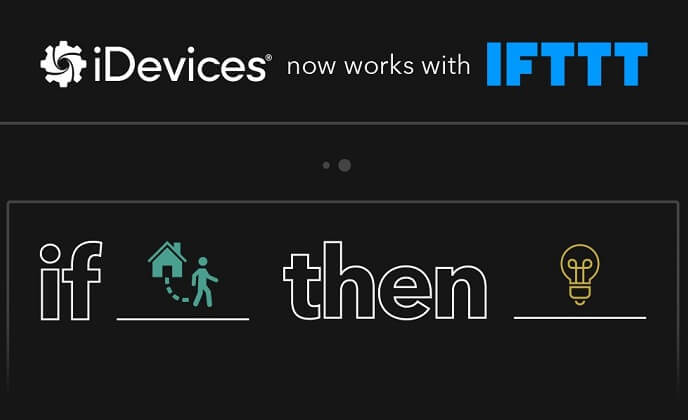 iDevices products now work with IFTTT
