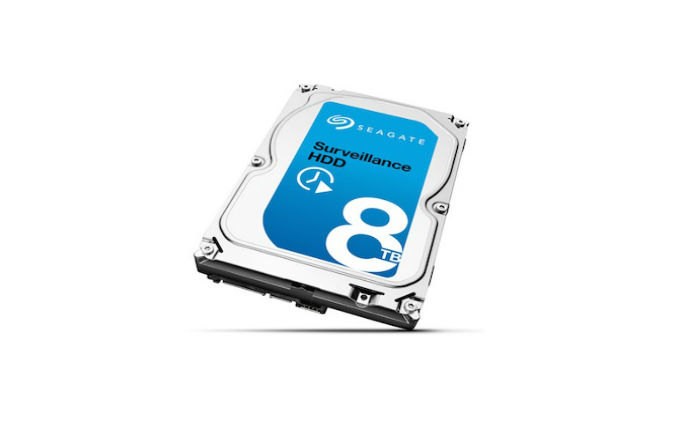 Seagate unveils world's first 8TB drive for surveillance applications