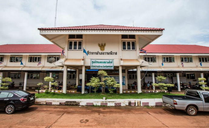 Wanon Niwat Subdistrict Municipality secured by Bosch - Thailand