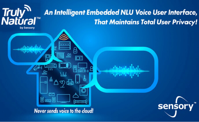 Sensory brings natural language understanding to the edge with TrulyNatural