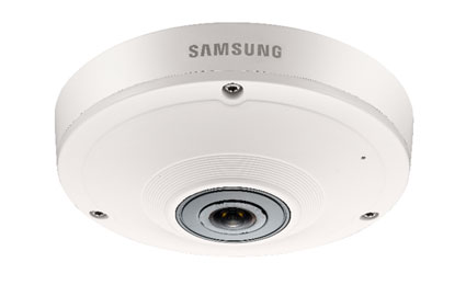 Samsung launches 5MP 360° Camera with PTZ feature SNF-8010