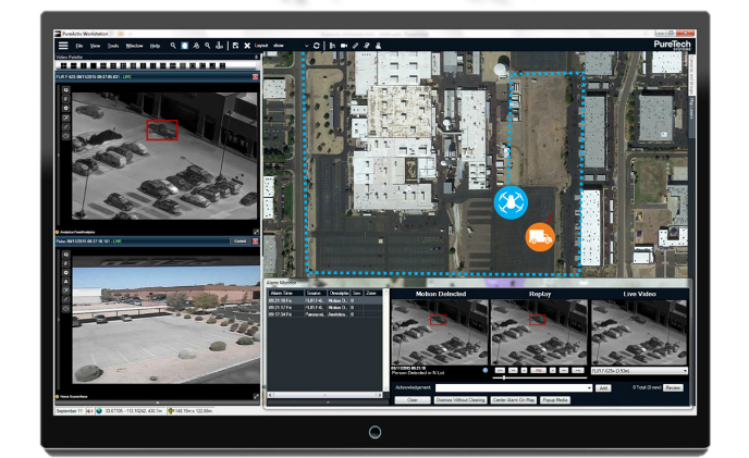 PureTech Systems integrates automated drone deployment