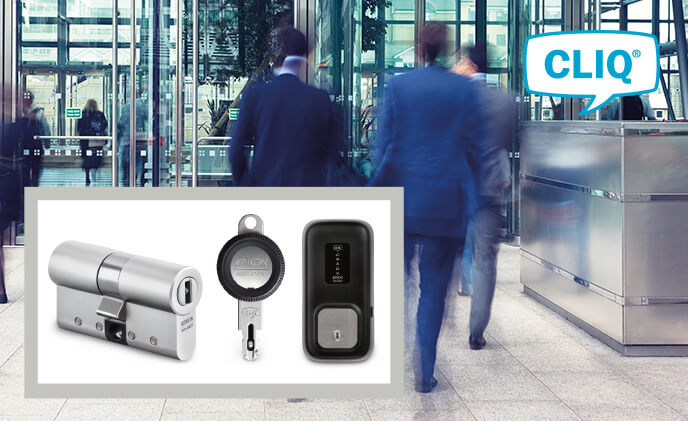CLIQ system puts an Italian bank in complete control of every entrance
