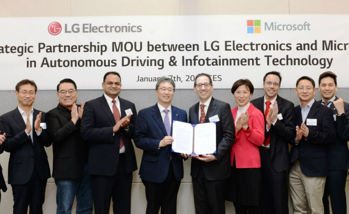 Employing Microsoft Azure to advance LG's AI-driven vehicle strategy