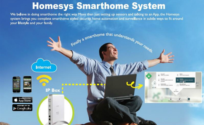 Everspring Homesys, an ideal solution for home security and automation