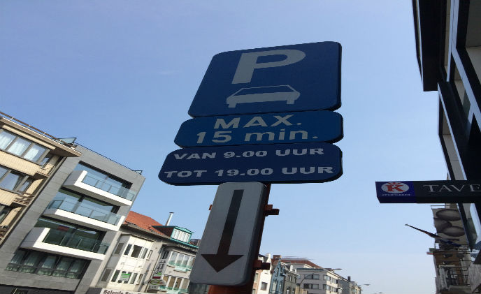 Nedap provides real-time parking information in Ostend