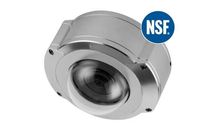 Oncam stainless steel camera earns NSF certification