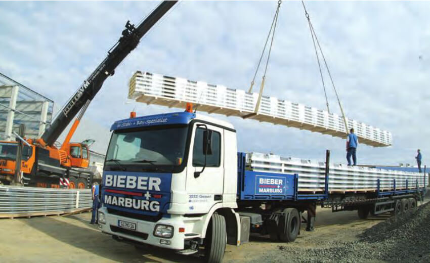 BIEBER + MARBURG uses video technology to document loading