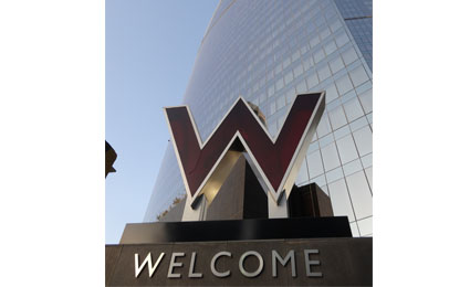 EverFocus surveillance products deployed in W Hotel Qatar