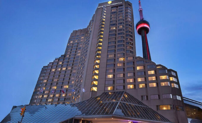 InterContinental Toronto Centre Hotel deploys RFID and locking solution