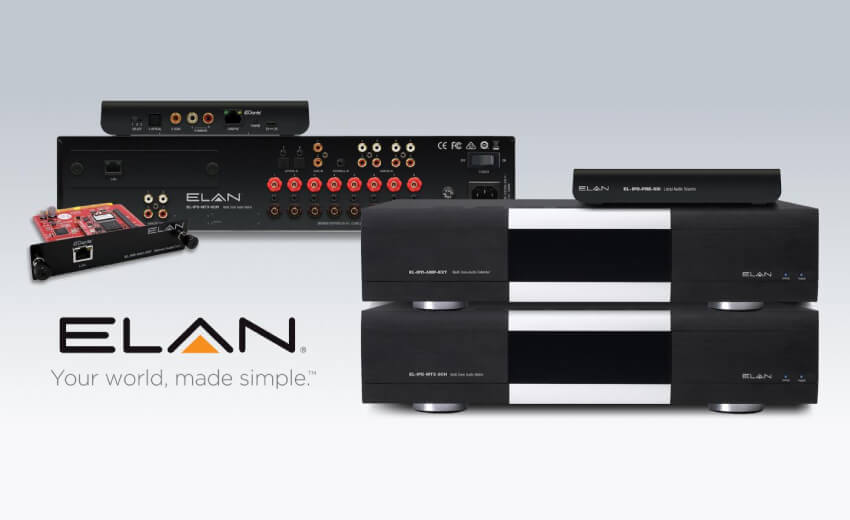 New ELAN audio system with Dante technology is available worldwide