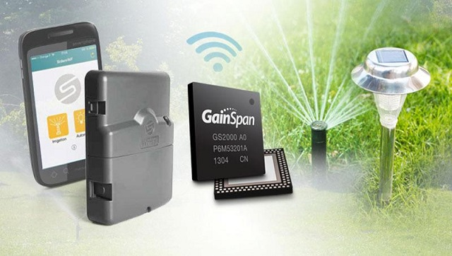 Solem Electronique selects GainSpan low-power Wi-Fi for wireless garden automation systems