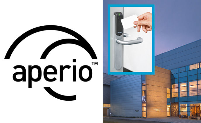Security door manufacturer chooses Aperio wireless locks
