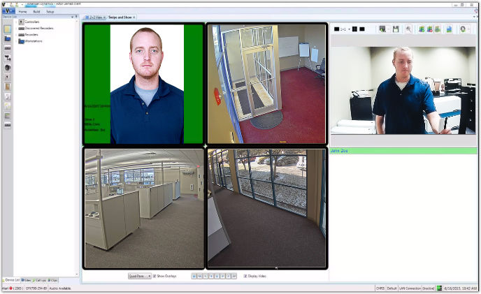 Tyco Security Products introduces VideoEdge facial biometrics