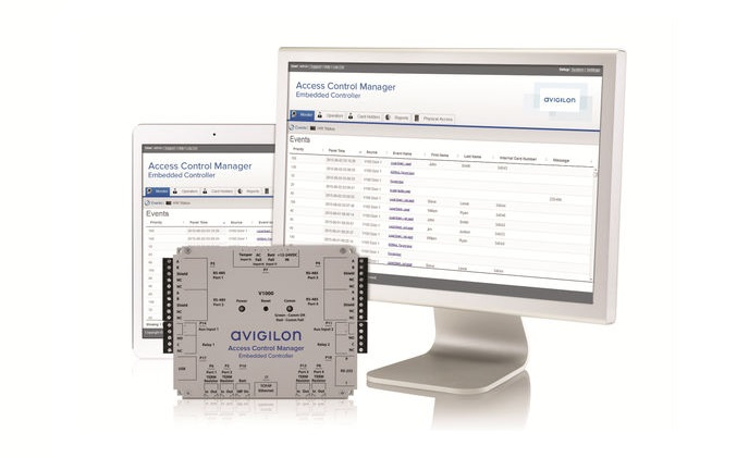 Avigilon launches the access control manager embedded controller for small and medium-sized enterprises
