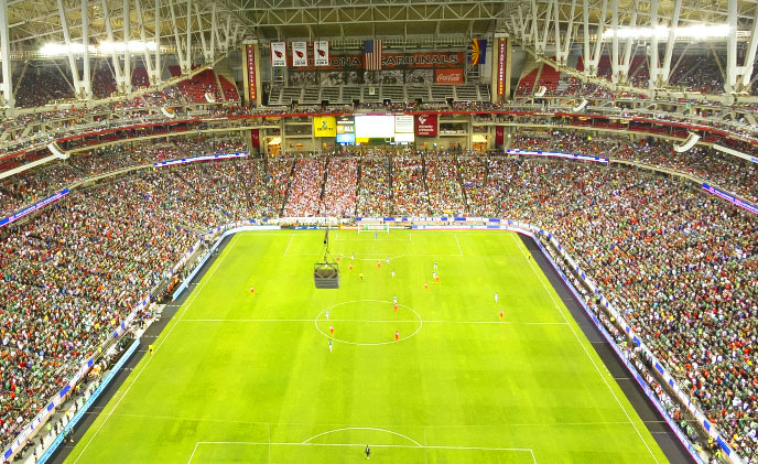 Avigilon provide HD security solutions to University of Phoenix Stadium