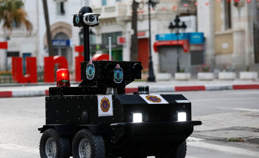 VIVOTEK joins ENOVA Robotics police robot project in Tunisia
