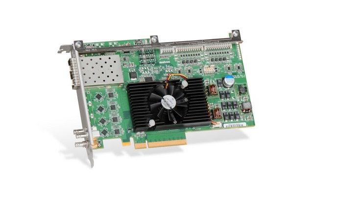 Matrox announces X.mio3 12G SDI card for developers