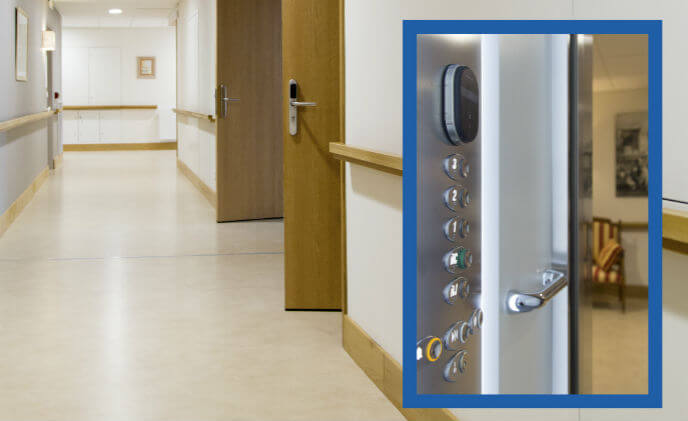 ASSA ABLOY SMARTair cures lost key troubles for a Toulouse retirement home