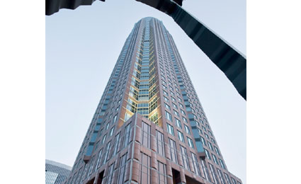 Bosch installs video solution in Frankfurt skyscraper