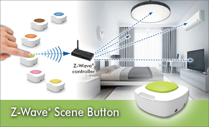 Good Way Technology's Scene Button simplifies smart home control