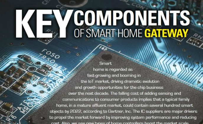 Key components of smart home gateway