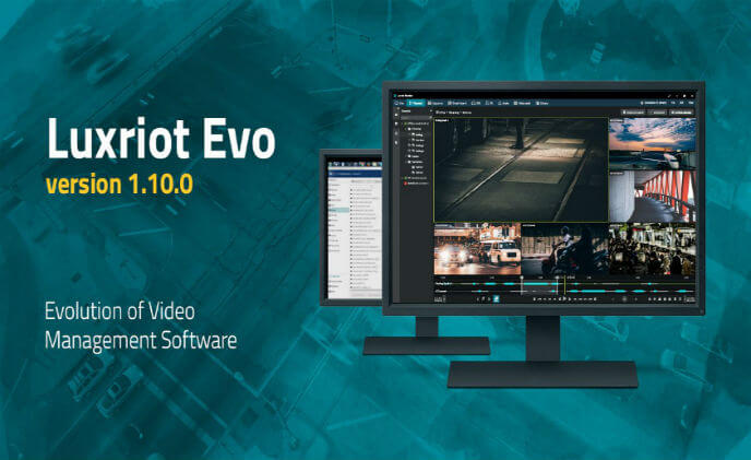 New Luxriot Evo version 1.10.0 is available