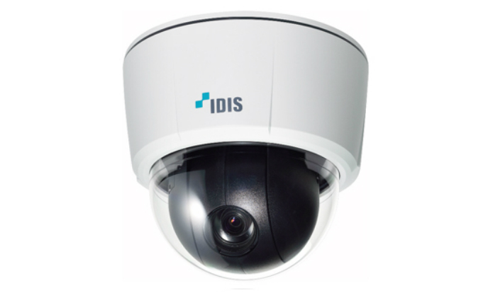 "IDIS 30x PTZ camera provides accuracy and ease of use with ""slingshot/rubber band"" smart UX controls"