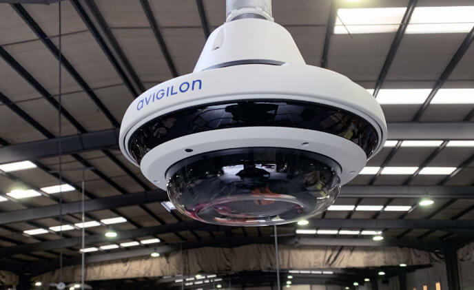 Avigilon AI technology selected to protect Independent Express Cargo