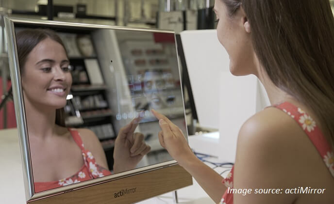 Smart mirrors: opportunities for businesses