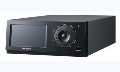 Samsung Introduces 4-CH H.264 DVR With Built-in Touch-Screen LCD