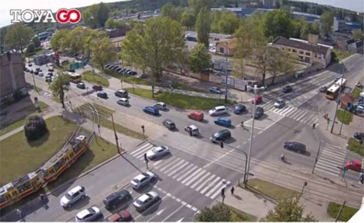 Easier-to-get traffic information from TOYA thanks to Axis network cameras