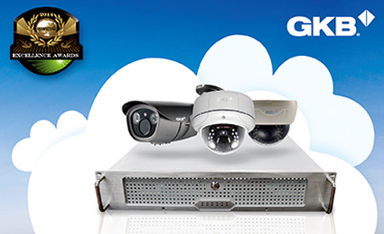 GKB ONVIF NVR honored by Secutech Award 2014