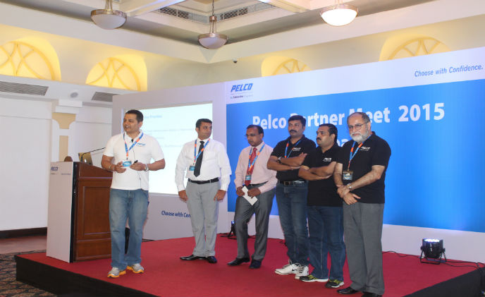 Pelco's India partner conference 2015
