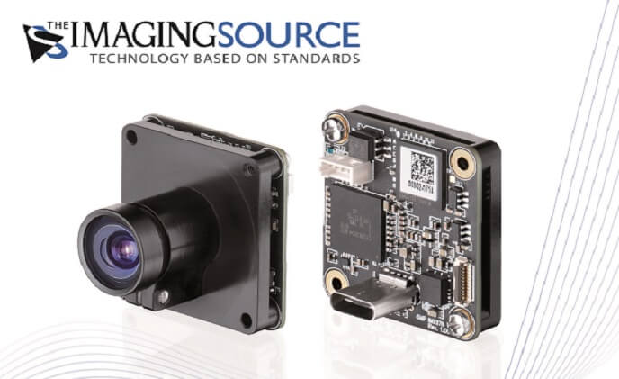 The Imaging Source launched new 6 MP single-board cameras